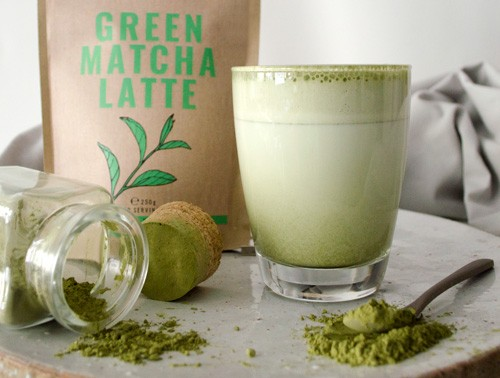 Green Matcha Latte Powder